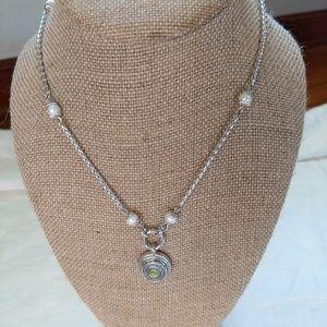 Magnolia and Vine necklace